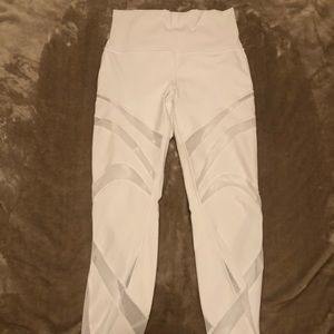 Lululemon Mapped Out High Rise Tight White Size 6